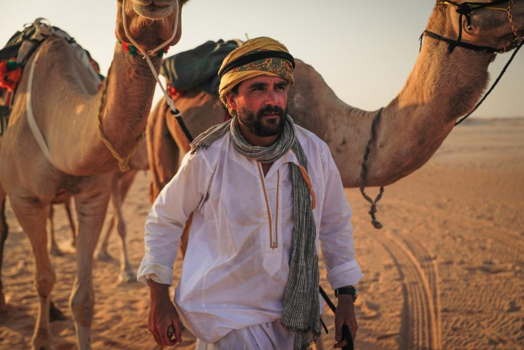 Discovery to premier 'Arabia with Levison Wood' on 5th September