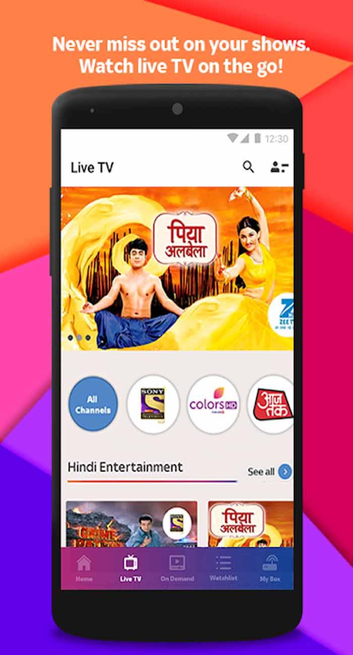 Tata Sky App