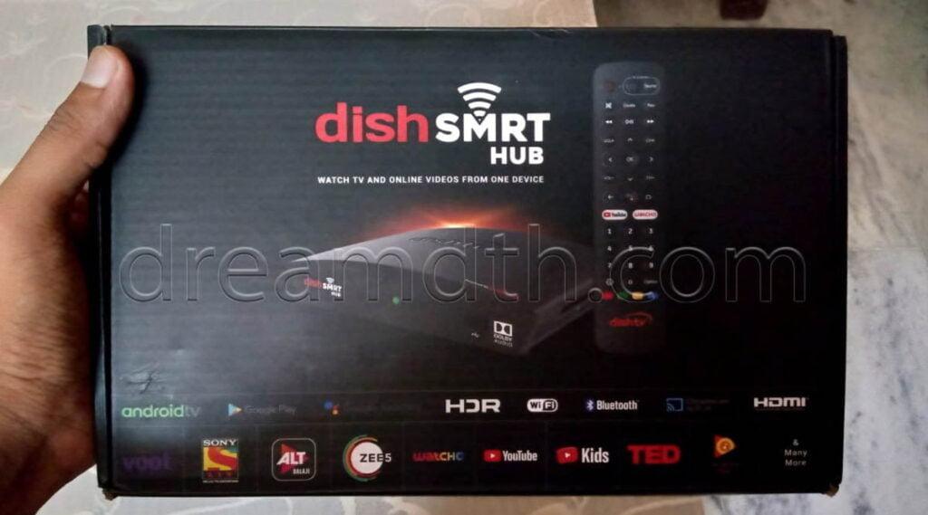 Dish SMRT Hub Unboxing