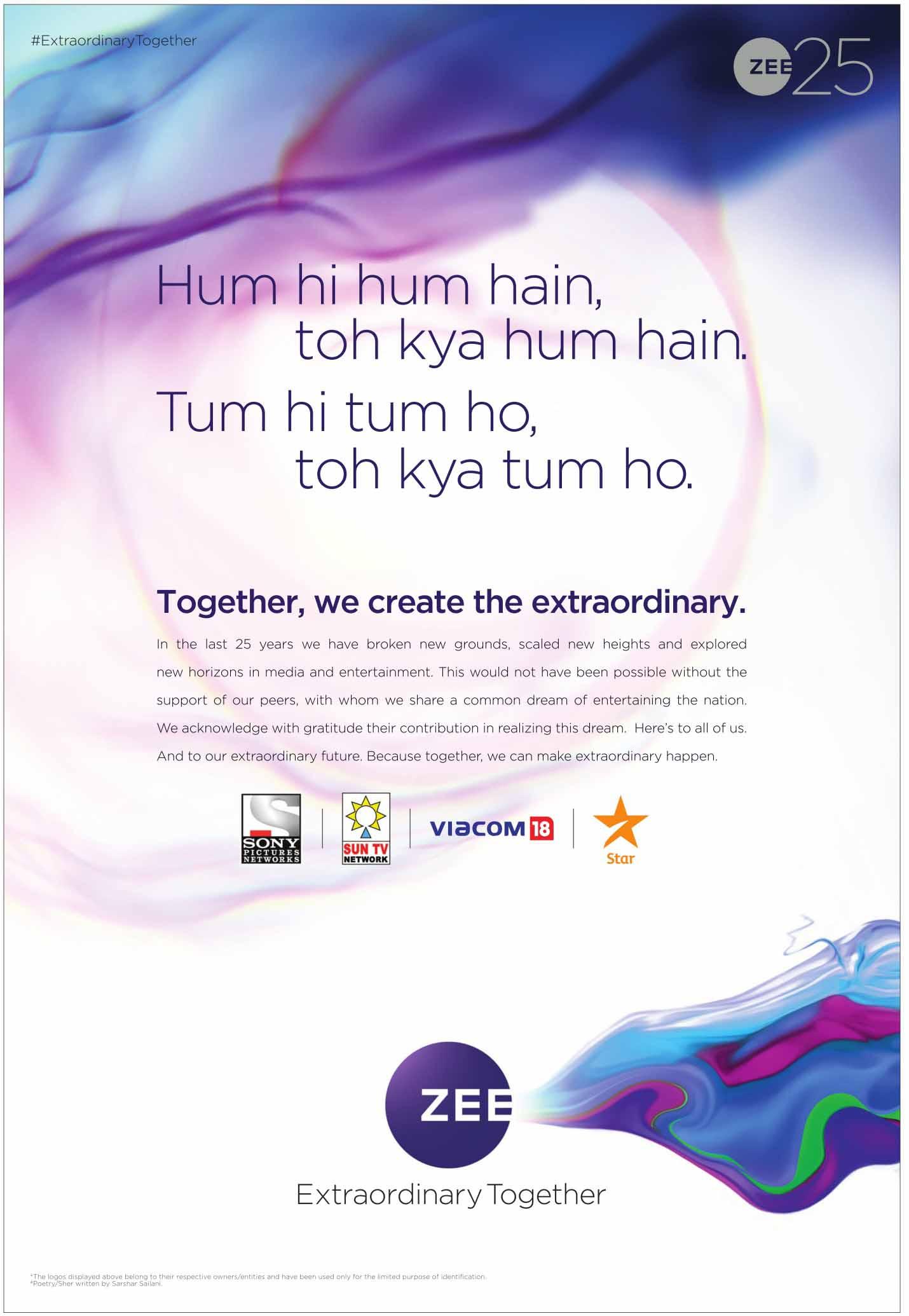 Zee Star Sony Sun Viacom