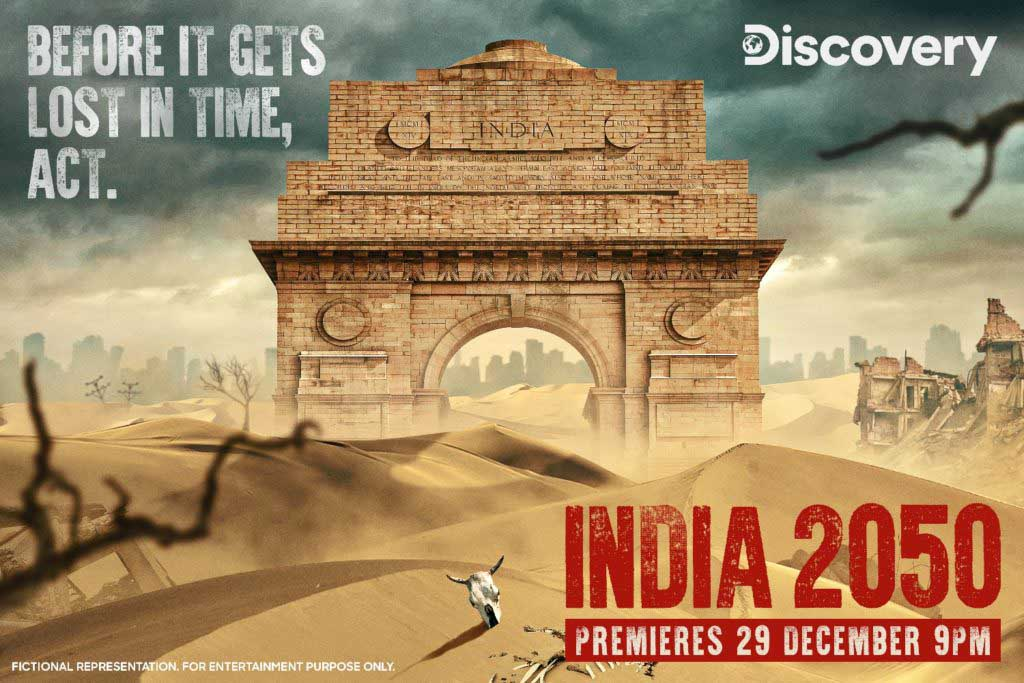 Discovery to Premiere 'India 2050' on 29 December