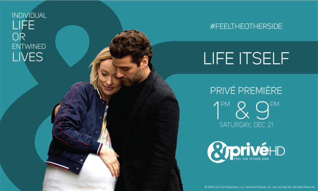 &PrivéHD premieres the multi-layered film 'Life Itself'
