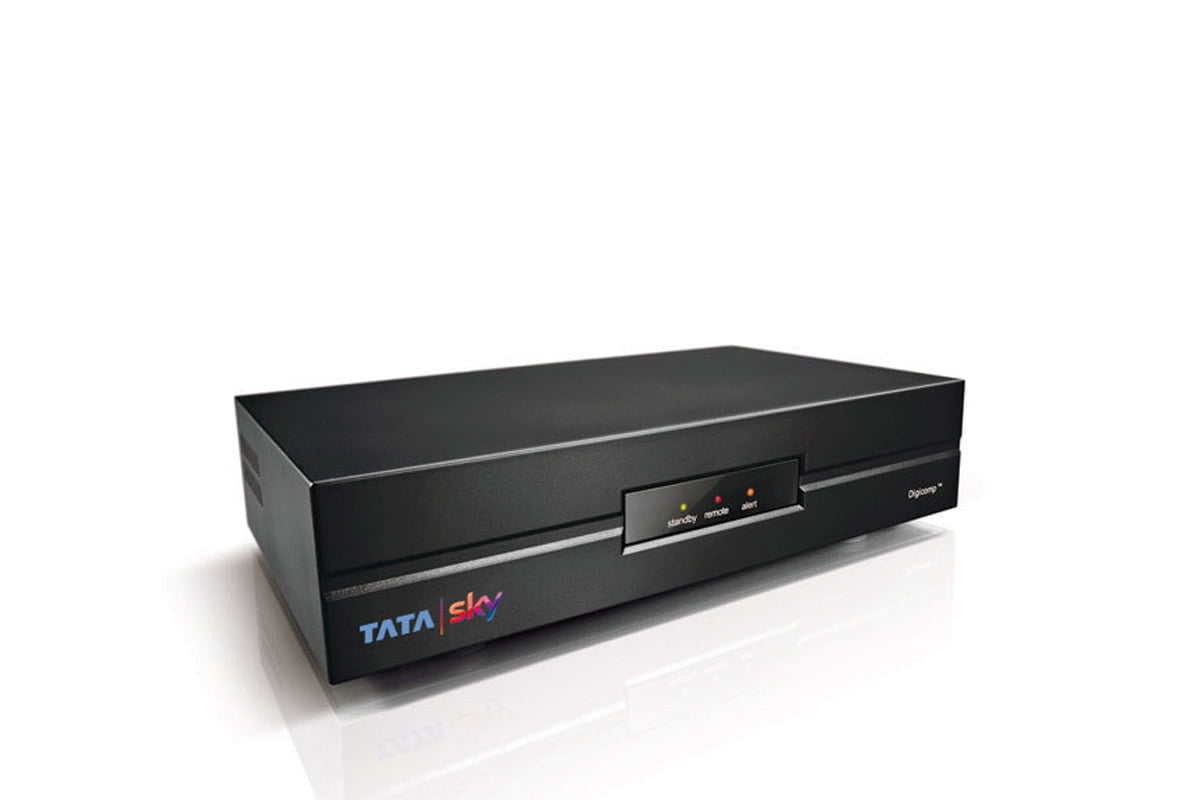 Tata Sky STB without Remote