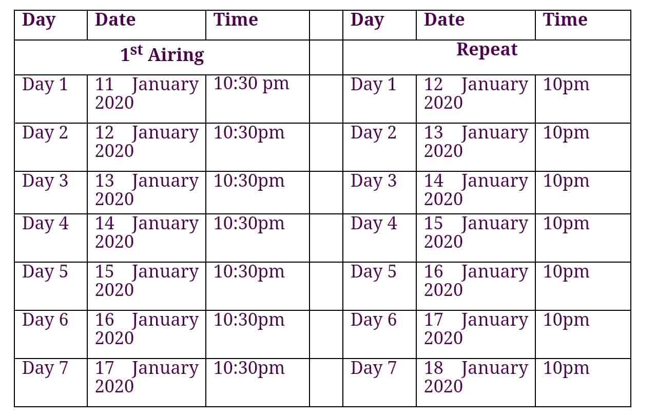 Dakar Rally broadcast schedule on DSport