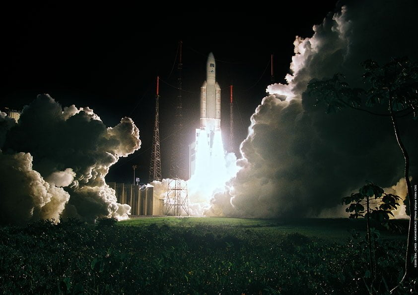 GSAT 30 installed on Ariane 5; set to launch on 16th January