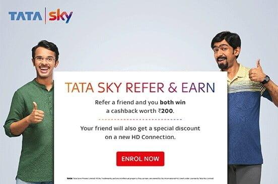 Tata Sky Refer N Earn