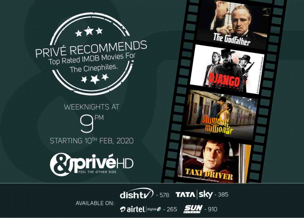 &PrivéHD brings cinephile approved IMDB top scorers on Privé Recommends