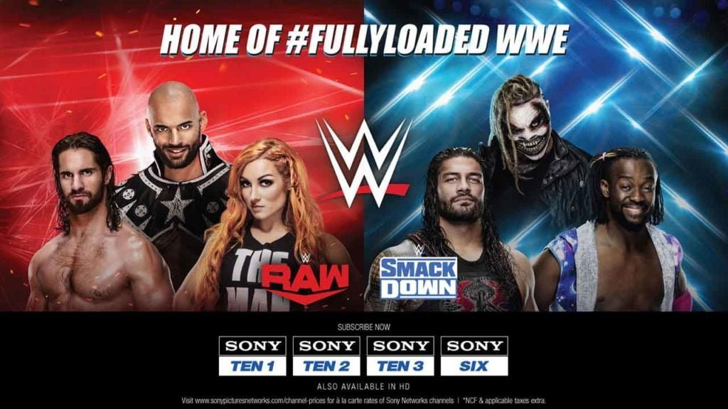 'WWE Blockbusters @ 8:00 pm', daily programming slot launches on SONY TEN 1 & SONY TEN 3 channels
