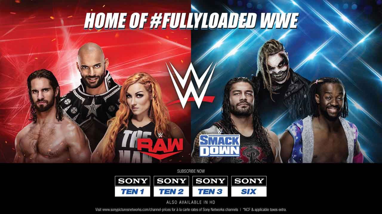 Sony Pictures Networks India and WWE® Expand Partnership in India