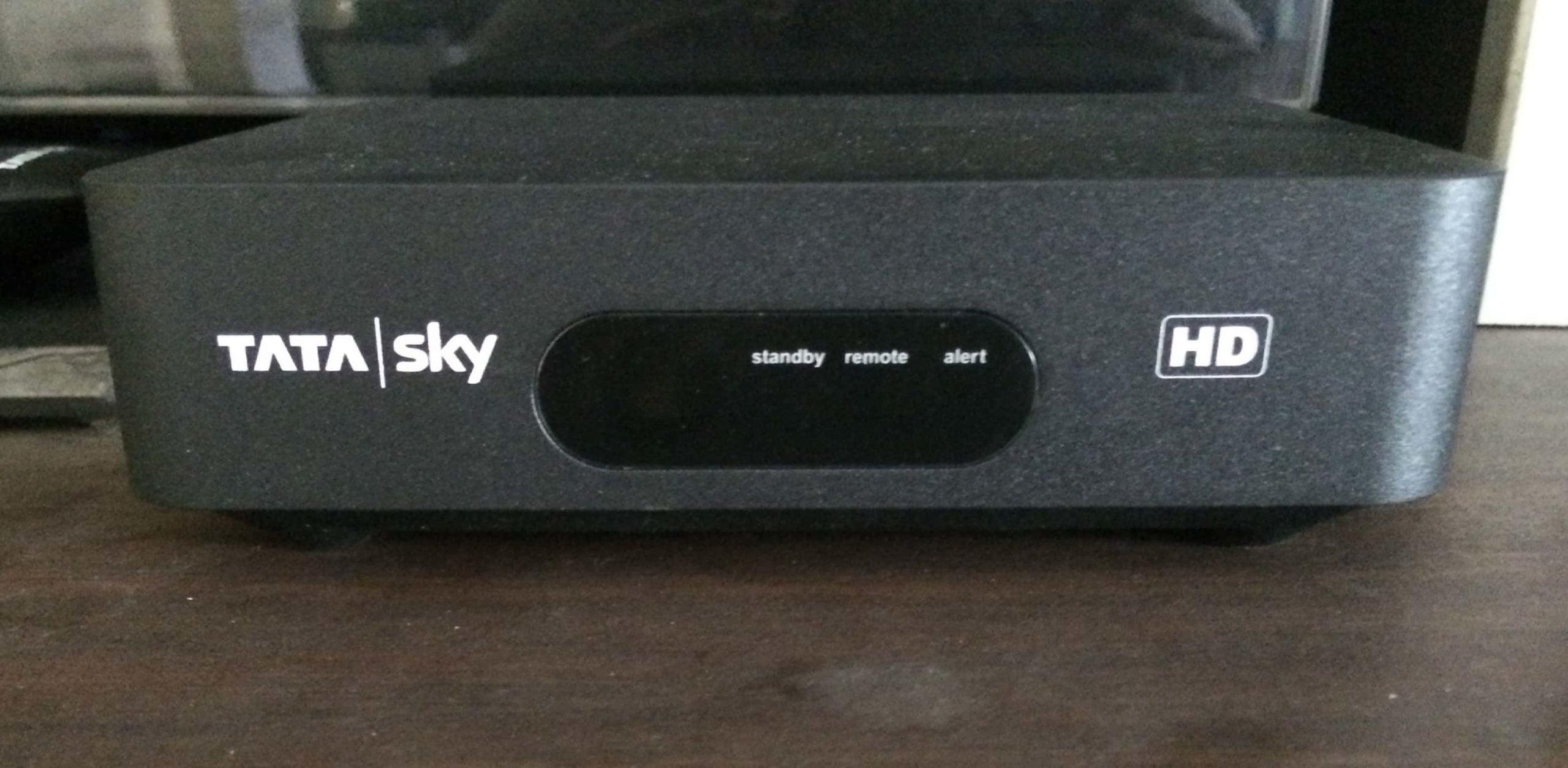 Tata Sky HD STB 2 scaled 1