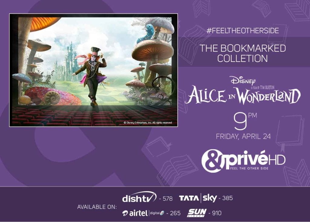 &PrivéHD to air Alice In Wonderland this Friday