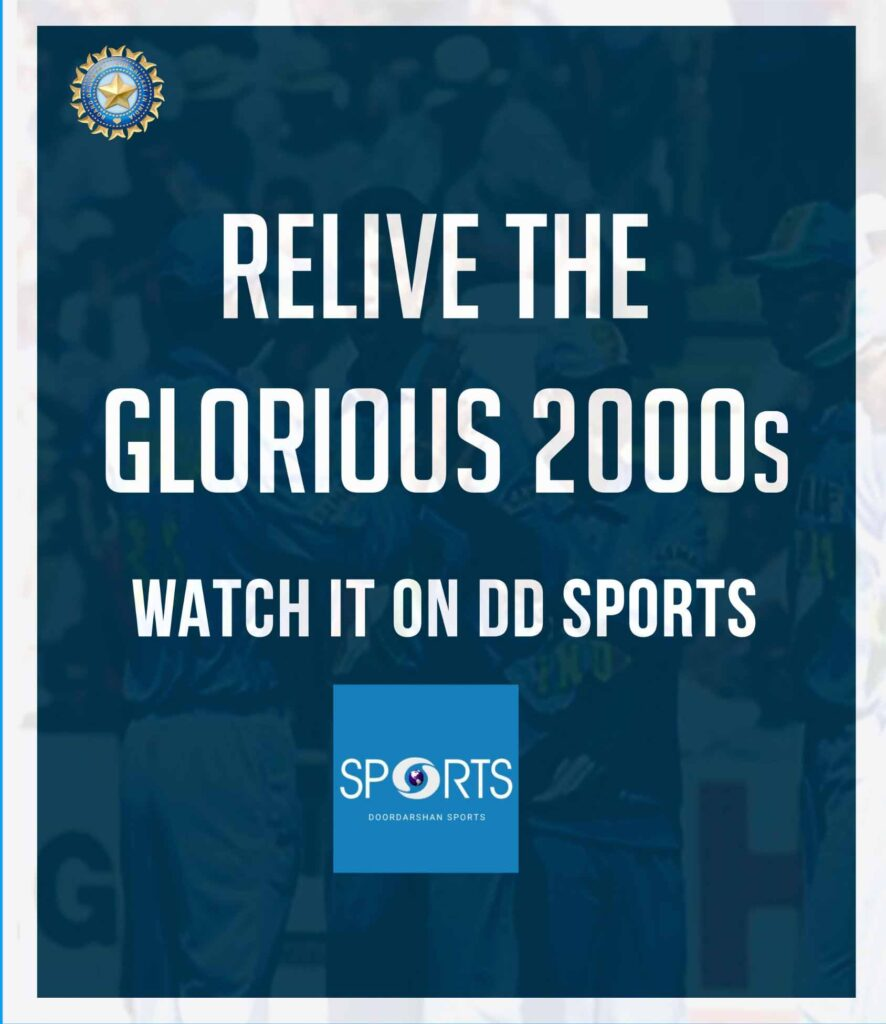 DD Sports announces second schedule of airing archive 2000s cricket matches