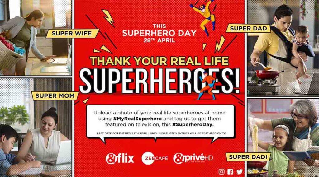 Zee English Cluster to air amazing Superhero Titles this Superhero Day