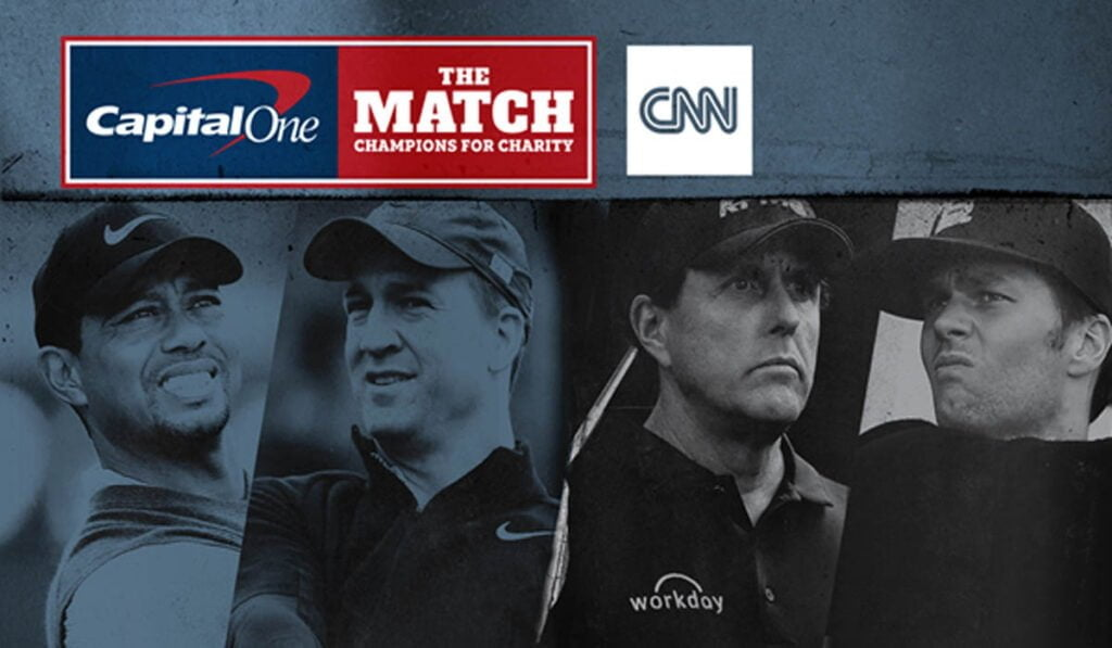 "CNN International to air Turner Sports' Exclusive Presentation of ""Capital One's The Match: Champions for Charity"