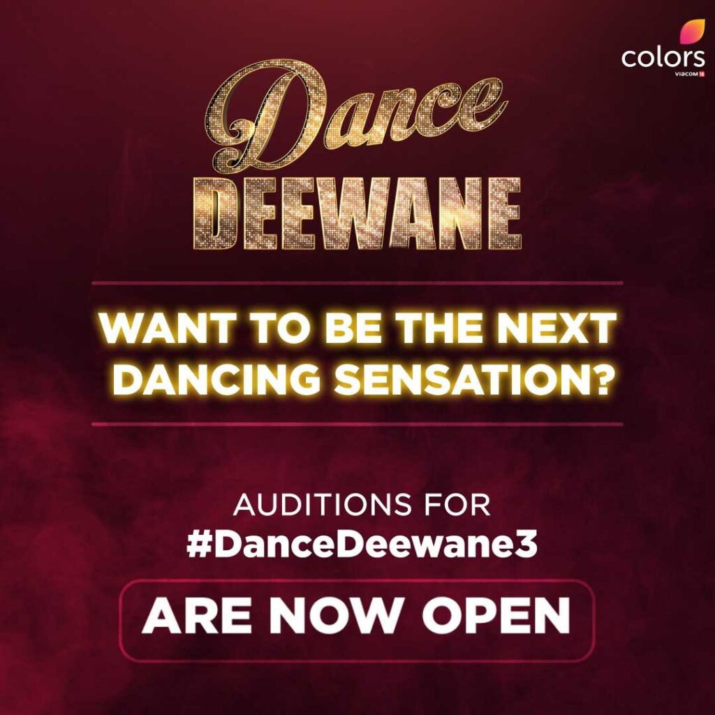 COLORS' brings back Dance Ki Deewangi, commences virtual auditions for Dance Deewane 3