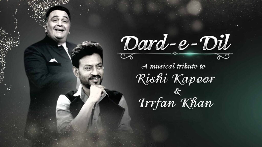 COLORS Dard-e-Dil to pay a musical tribute to Rishi Kapoor & Irrfan Khan