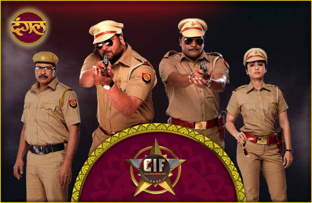 Dangal to stream Crime Fiction show Crime Investigation Force (CIF) it's Facebook page