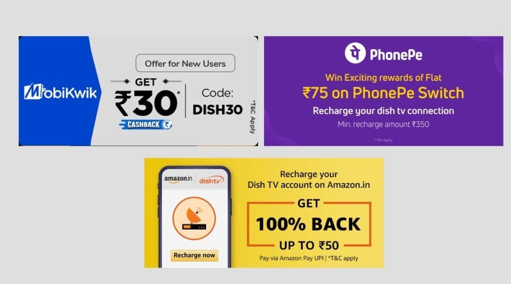 These Dish TV Recharge Offers are expiring this month