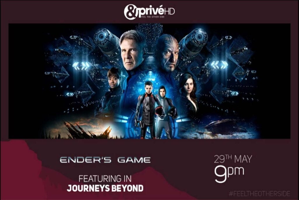 Ender's Game premiers on &PriveHD this Friday
