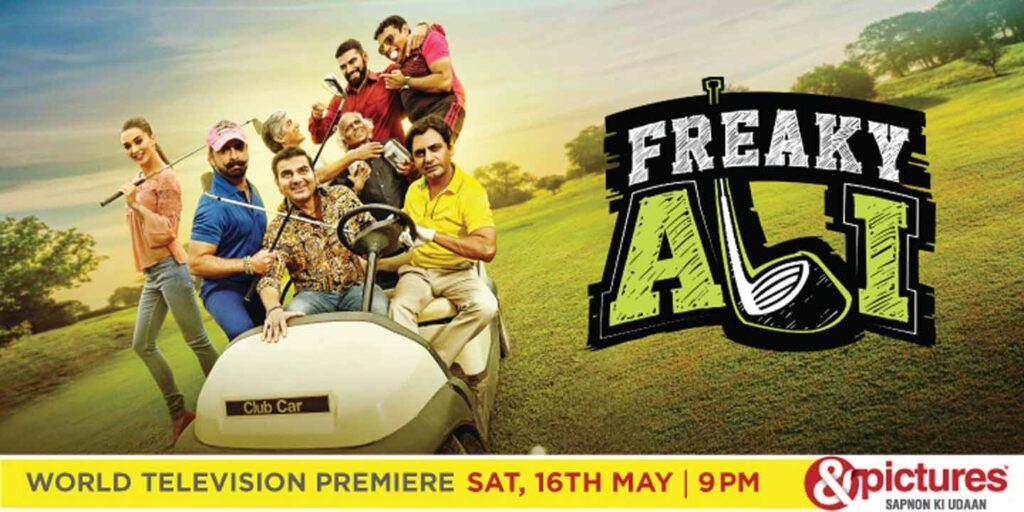 &pictures to air World Television Premiere of 'Freaky Ali' this Saturday