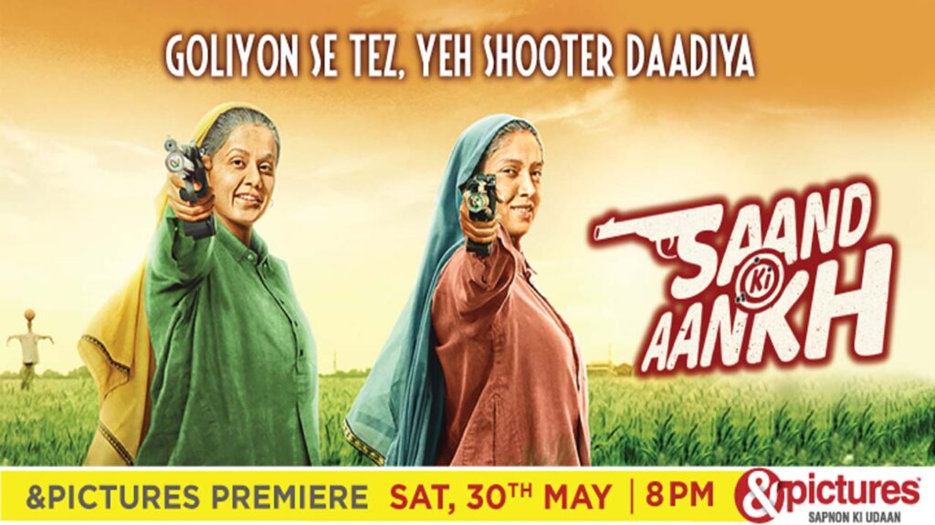 Saand Ki Aankh to premier on &pictures this Saturday