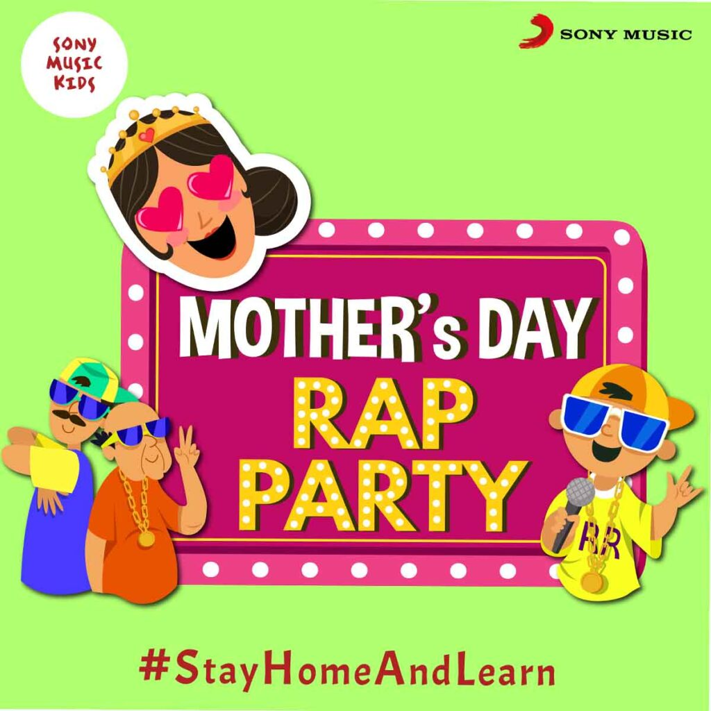 Sony Music Kids launches 'Mother's Day Rap Party' playlist