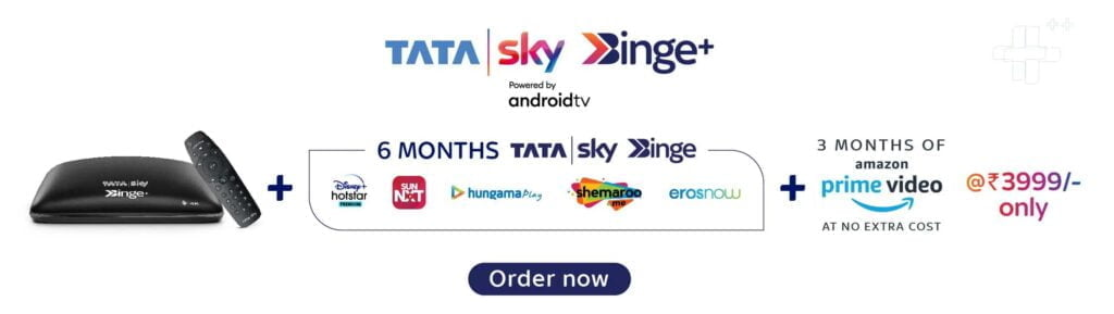 Tata Sky Binge+ price reduced to Rs 3999 with 6 Months Tata Sky Binge at no extra cost