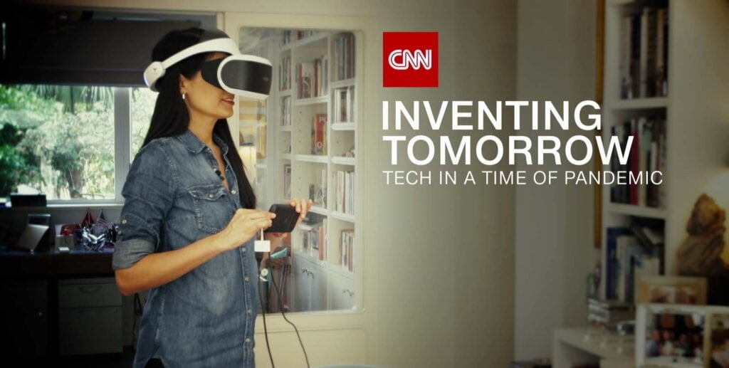 Tech in a time of Pandemic premiers on CNN International on 9th May 2020