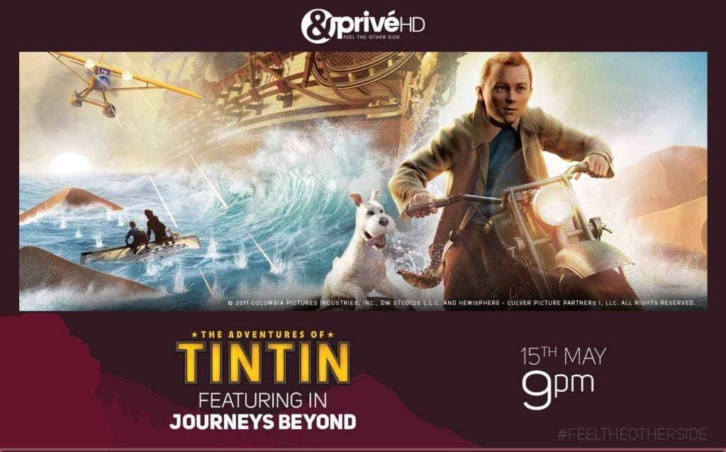 The Adventures of Tintin' airing on &PrivéHD this Friday