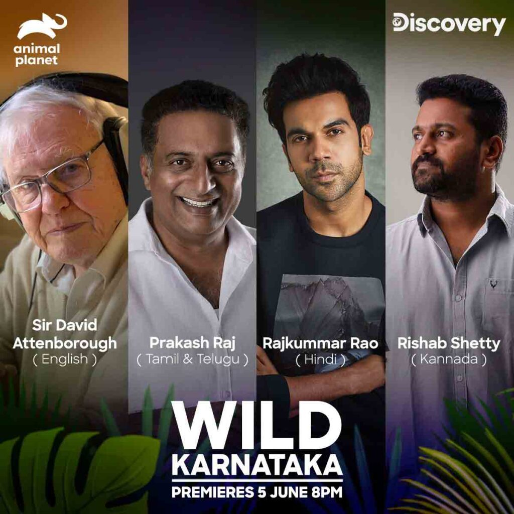 Discovery Network pulls in celebrated actors for the premiere of 'Wild Karnataka' on World Environment Day