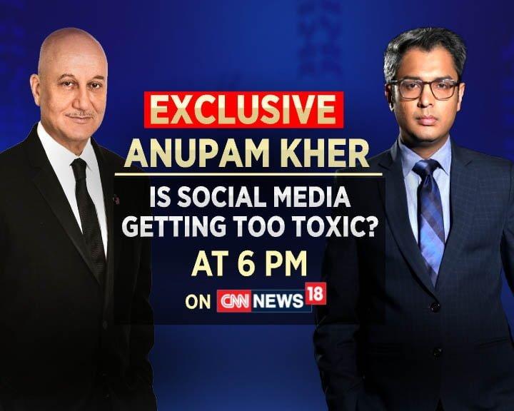 CNN News18 lines up interviews with Anupam Kher and Ayushmann Khurrana