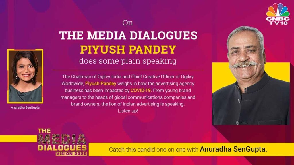 Ogilvy's Piyush Pandey speaks CNBC-TV18 on the impact on Advertising Agency Business
