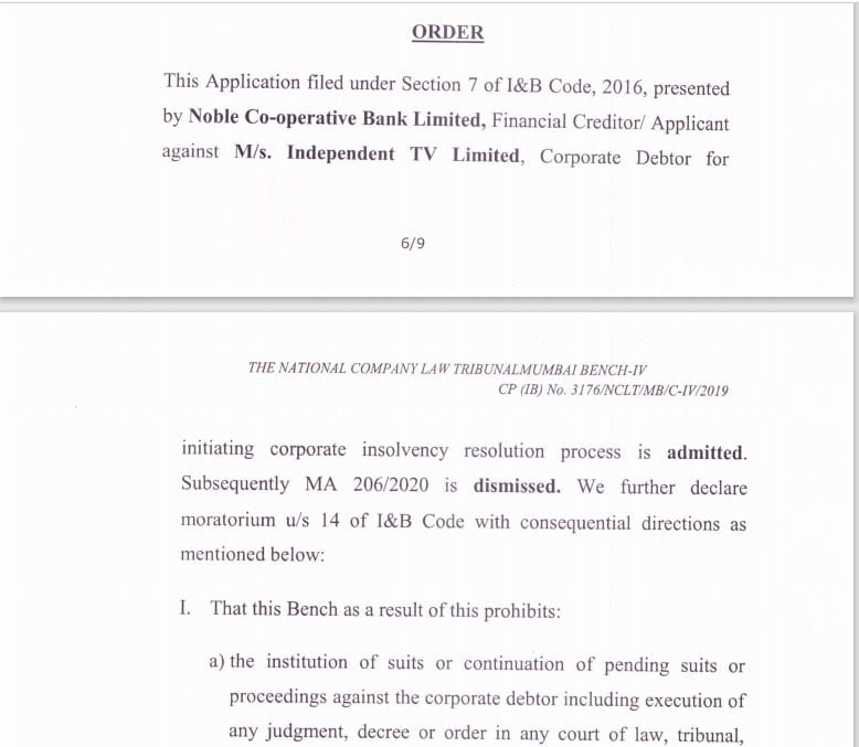 Mahindra Bolero acquisition lands Independent TV into Moratorium