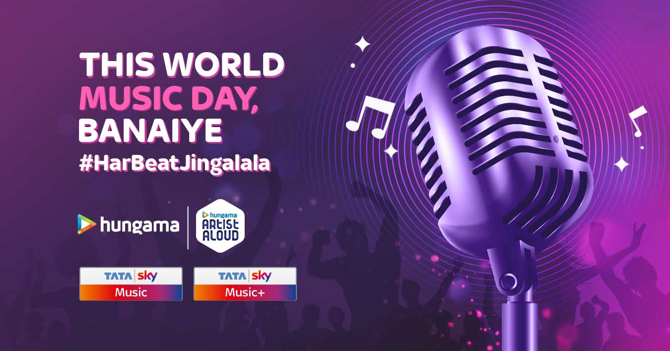 Tata Sky and Chimp&z Inc colloborate to compose #HarBeatJingalala Campaign this World Music Day