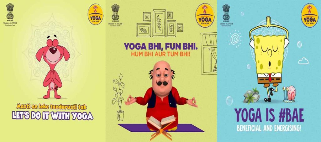 Nickelodeon says #YogaSeHiHoga this International Yoga Day