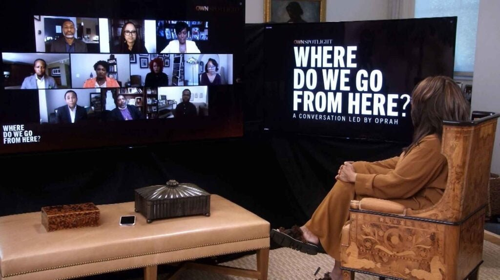 """Discovery to simulcast Oprah Winfrey hosted """"OWN Spotlight: Where Do We Go From Here?"""" at 5 PM today"""