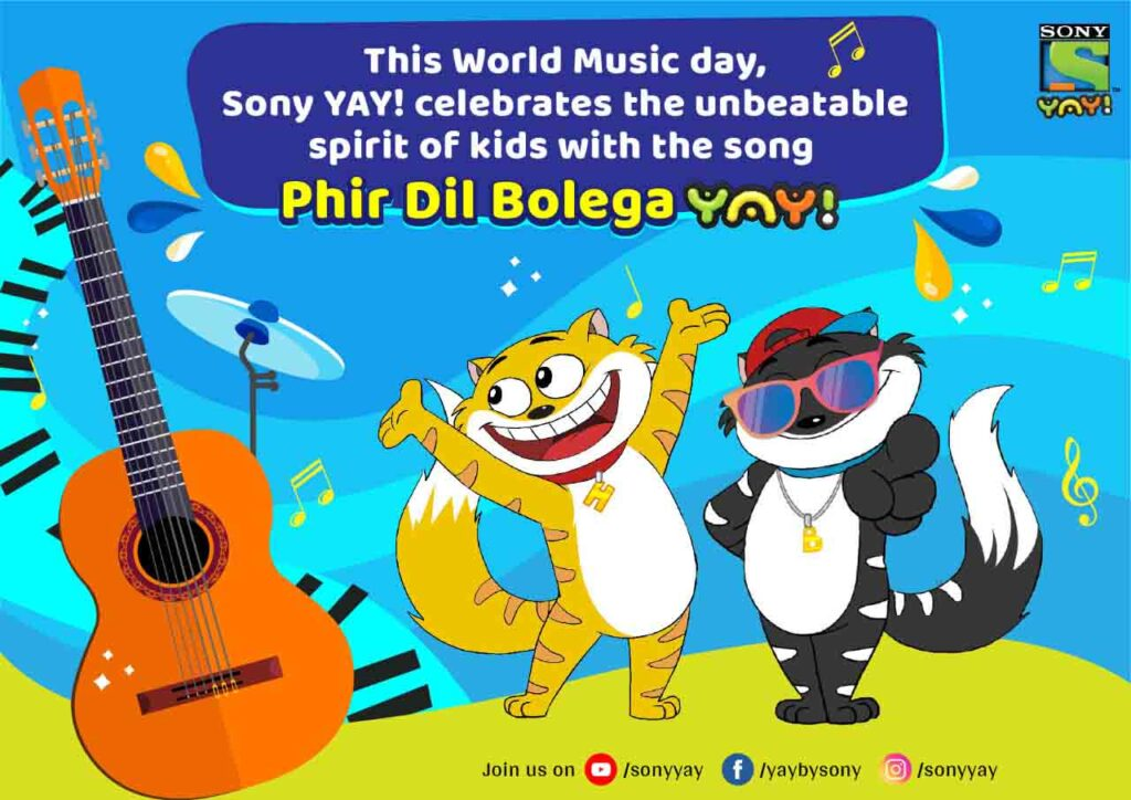Sony Yay! launches campaign for World Music Day