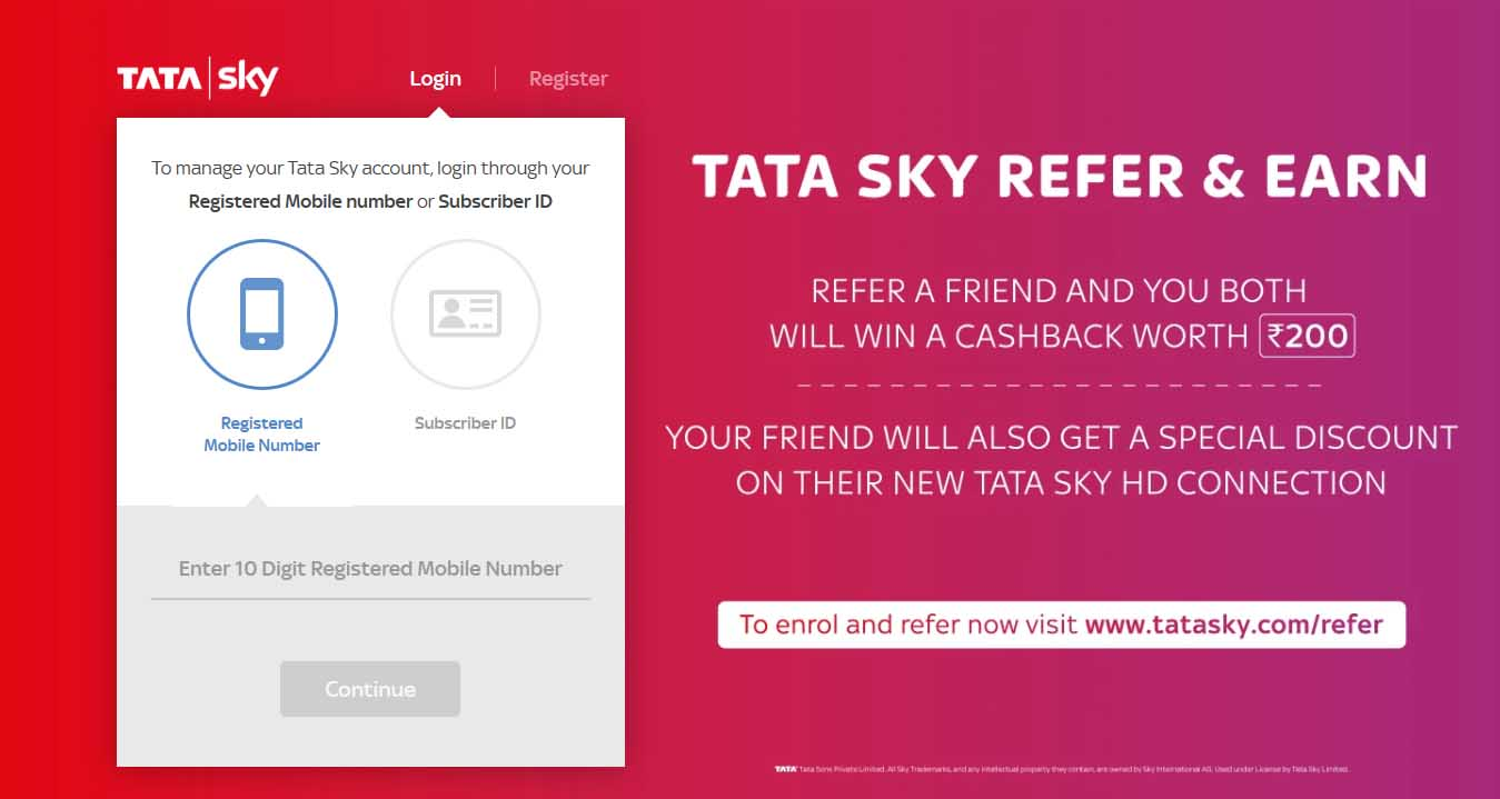 Tata Sky web portal redesigned, now offers more modern and clean look