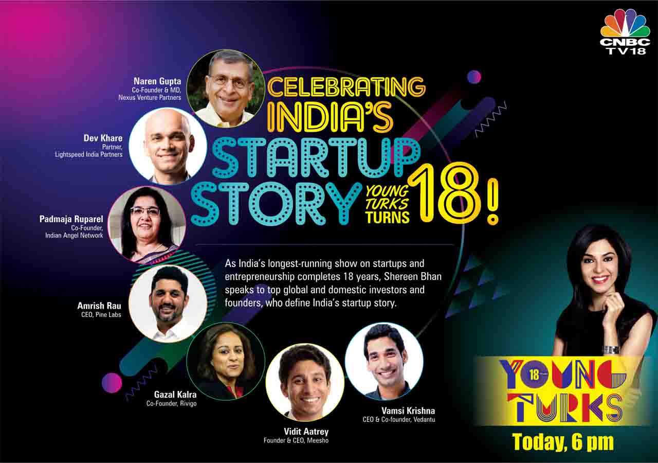 CNBC TV18's Young Turks