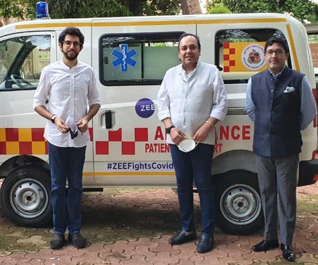 ZEE donates 200 Ambulances, 40,000 PPE Kits  and build 100+ ICU Units as part of national level CSR drive