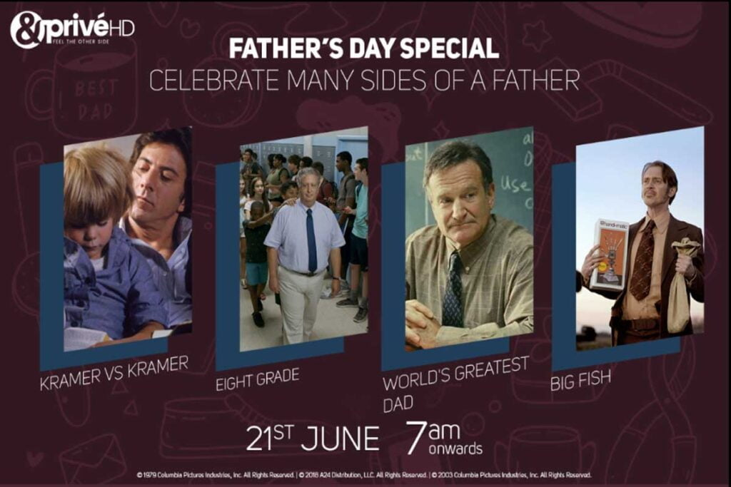 &flix and &PrivéHD curate binge watch experience this Father's Day
