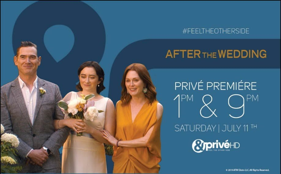 &PriveHD to premiere 'After The Wedding' this Saturday