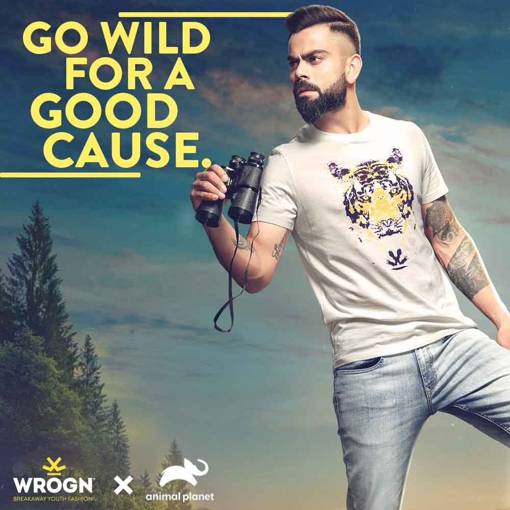 Animal Planet and Wrogn join hands to creatively shine light on the cause of endangered species