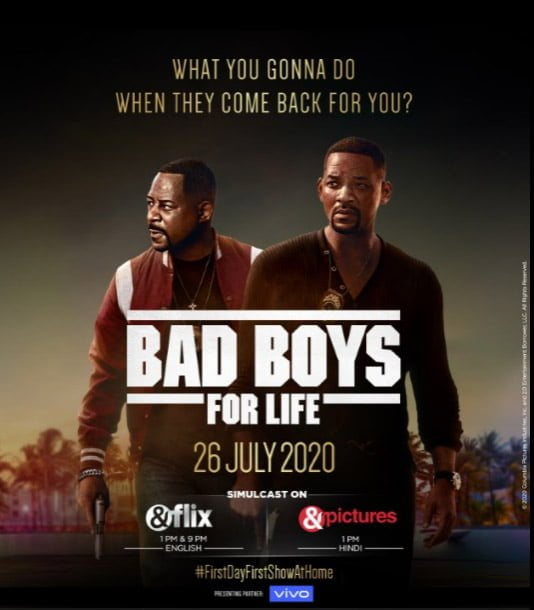 &flix and &pictures to simulcast Indian Television Premiere of Bad Boys