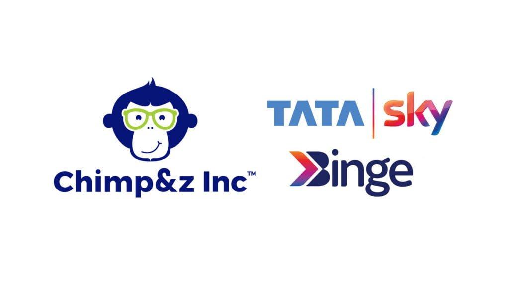 Chimp&z Inc Bags the Digital Mandate for Tata Sky Binge