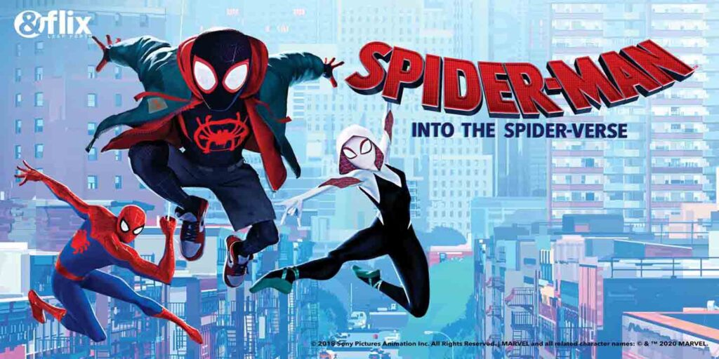 &flix to air Spider-Man: Into The Spider-Verse this Sunday