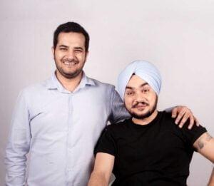 Angadd Singh and Lavinn Rajpal Chimpz and Inc