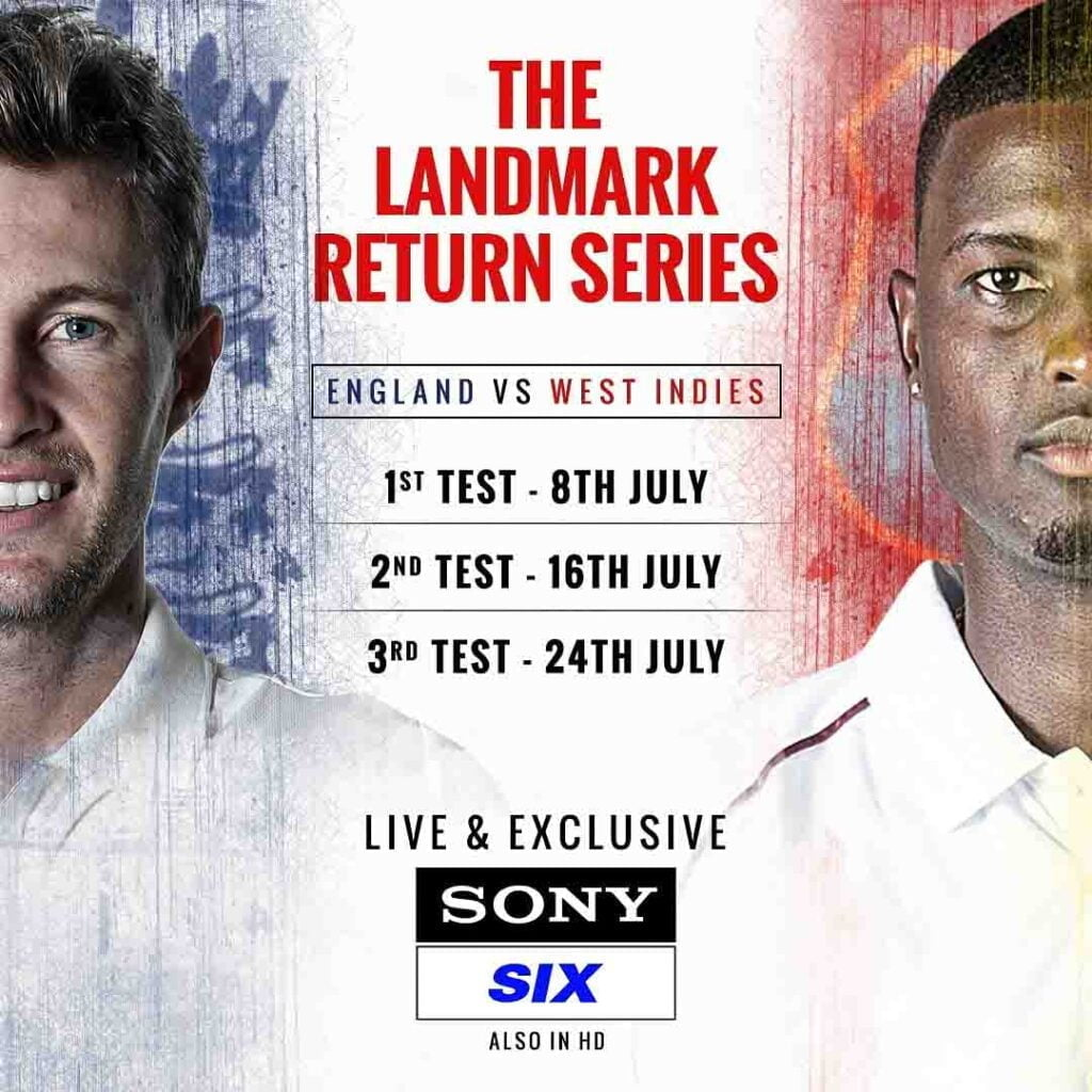 Sony Pictures Sports Network brings back LIVE cricket action with West Indies Tour of England