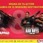 &pictures to premiere Thappad and Bad Boys for Life this weekend