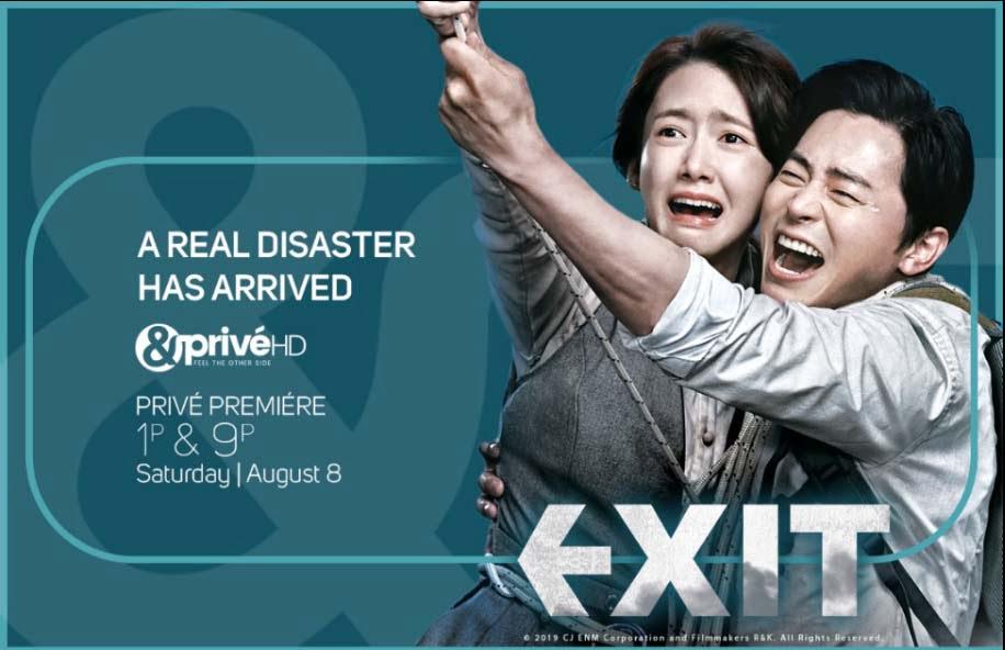 Epic Korean Action-Comedy 'Exit' to premier on &PrivéHD